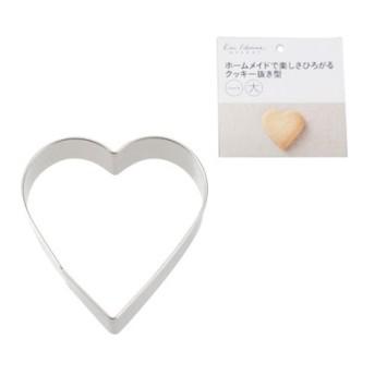 貝印 kai House SELECT クッキー抜型 ハート(中) 中 製菓用品