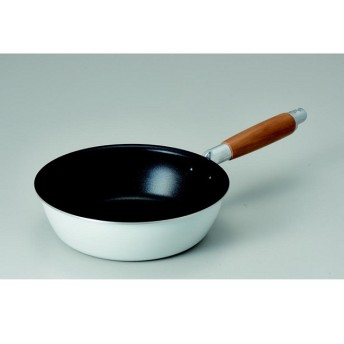【HOME COORDY】IH対応3層コート深型フライパン20cm 深型20cm 片手鍋・両手鍋