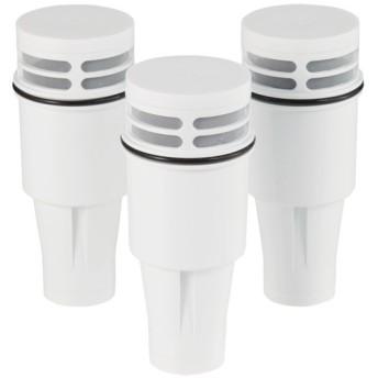 HOME COORDY ポット型浄水器交換カートリッジ 3個入 ホームコーディ ホワイト 3個入り