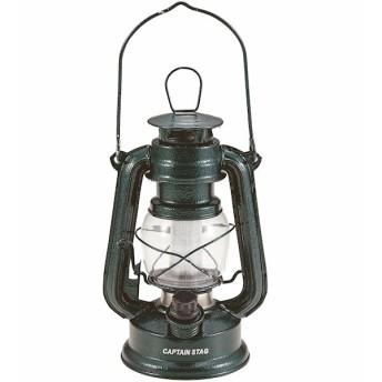 アンティーク暖色LEDランタン(ハンマートン グリーン) 幅12x奥12x高さ22cm 配送エリア(配送不可商品)