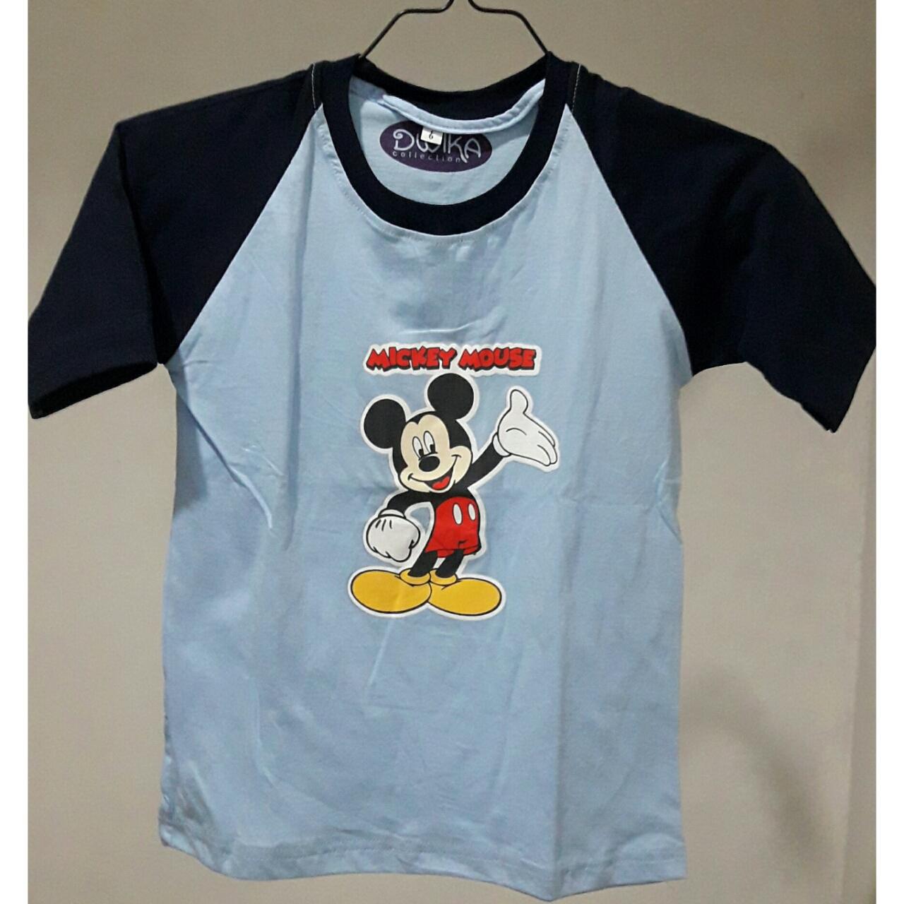 Hylmi Shop Line Baju Anak Mikimouse Kaos Mickey Mouse Size 6