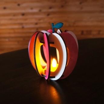 「りんご」木製ミニランプ 照明 インテリア