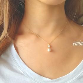 Cryrtal CottonPearl Necklace