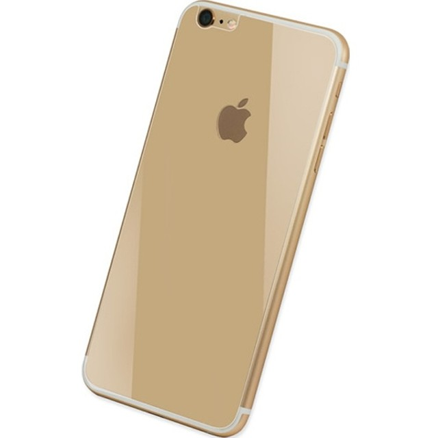 iPhone 6用 High Grade Glass Screen Protector 0.33mm 背面用カラーガラス ゴールド DG-IP6G3BGD
