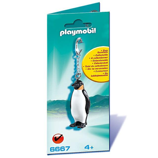 Playmobil 摩比 6667 鑰匙圈 企鵝