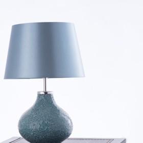 ダックエッグブルーモザイクテーブルランプ-BNL00085