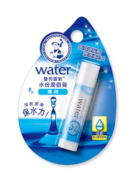 曼秀雷敦水份潤唇膏-薄荷 3.5g MENTHOLATUM【艾保康】