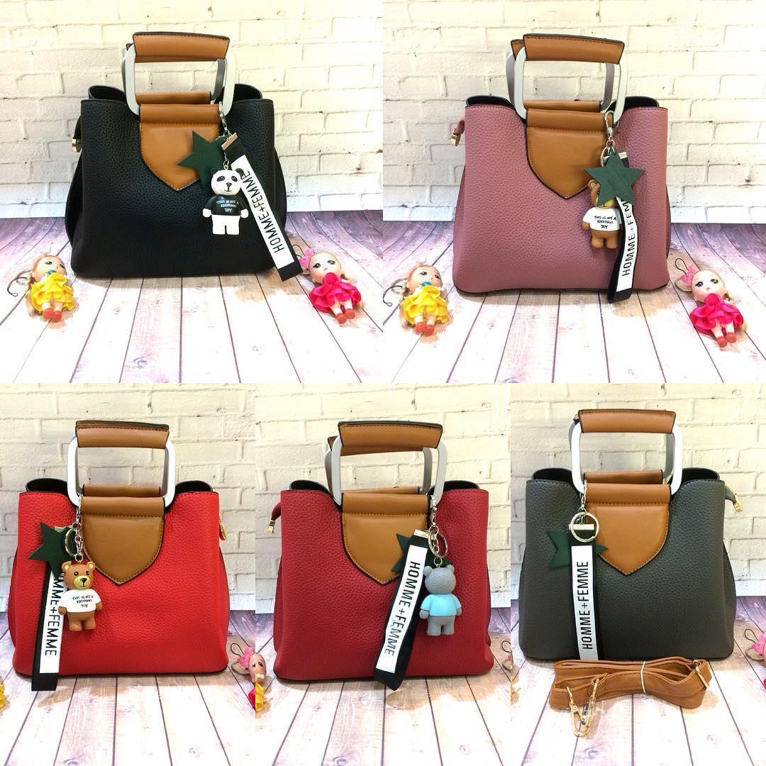 Pinkybells Shop Line Tas Merah Hk Import 3112170649 Cco Hand Bag