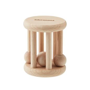 ミキハウス 木製ラトル(ローリング型)