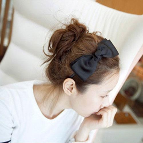 韓版經典蝴蝶結髮箍 復古簡約氣質頭箍 髮飾 髮帶 髮圈