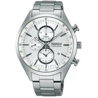 WIRED(ワイアード) New Standard Chronograph AGAV108 メンズ腕時計
