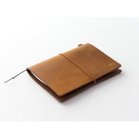 トラベラーズノート パスポートサイズ キャメル