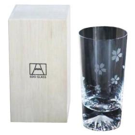 田島窯 富士山グラス タンブラーグラス桜