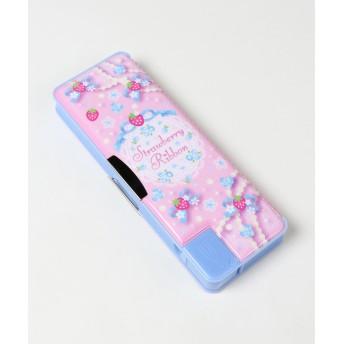【オンワード】 Mother garden(マザーガーデン) MG ペンケース リボン桃色 筆箱 ふでばこ ピンク(淡) - キッズ