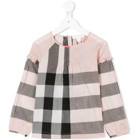 Burberry Kids Aggy ロングスリーブTシャツ - ピンク