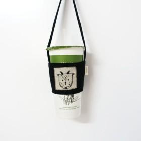 環境にやさしい飲料袋 - 黄土色の黒