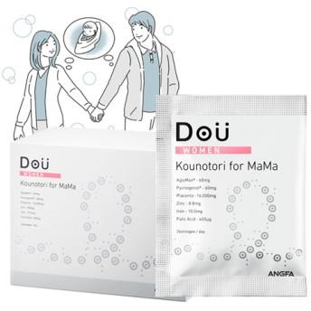 【ANGFA】Dou[ドウ]【女性用妊活サプリメント】コウノトリ for ママ