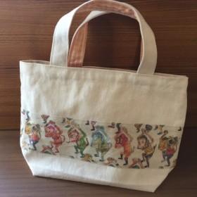 さるンバのミニトートバッグ(送料無料)