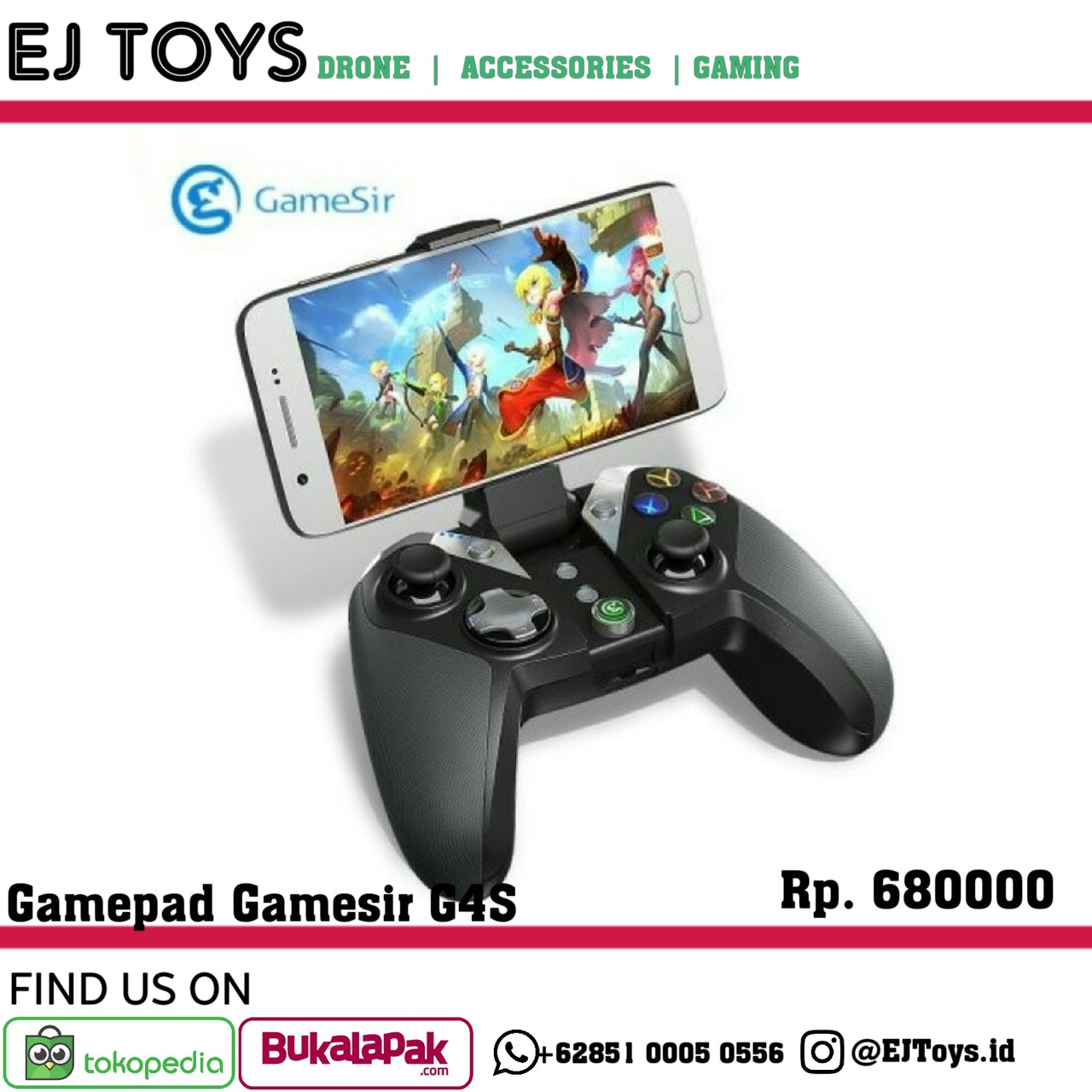 Mobile Phone Bluetooth Game Controller For Android Legends And Crossfire