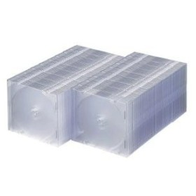 サンワサプライ DVD・CDケース(クリア) 品番:FCD-PU100C