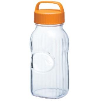 漬け上手果実酒ポット 保存容器・調味料 ポット(オレンジ) 幅124×奥行100×高さ295(mm) 2入/プロ用/新品