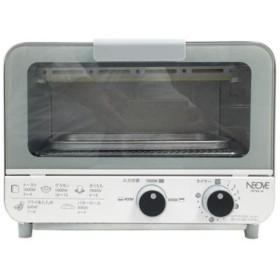 NEOVE NTT9A-W トースト2枚がピッタリ収まるコンパクトサイズ!オーブントースター(9L) (NTT9AW)