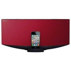 CMT-V70BIP-R ソニー iPod/iPhone用ドックコンポ (レッド)