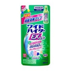 花王 【ワイドハイターEXパワー】 つめかえ用 480ml〔漂白剤〕