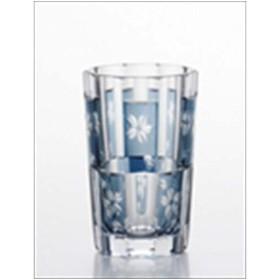 【取寄品】昭和ノグラス[グラスカップ]タンブラーM/鉄紺