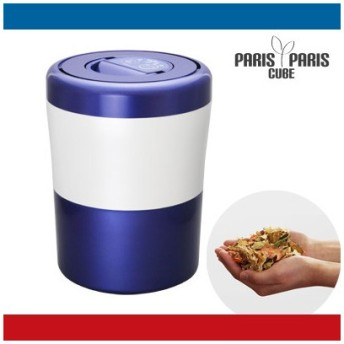 島産業 家庭用 生ごみ減量乾燥機 生ごみ処理機 パリパリキューブ ライト PCL-31-BWB ブルーストライプ