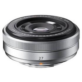 富士フイルム FUJIFILM カメラレンズ XF27mmF2.8【FUJIFILM Xマウント】(シルバー)