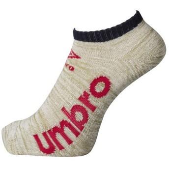 (セール)UMBRO(アンブロ)スポーツアクセサリー ソックス 3P デザインアンクルソックス UCS8542 MGBS メンズ 23-25 MGBS