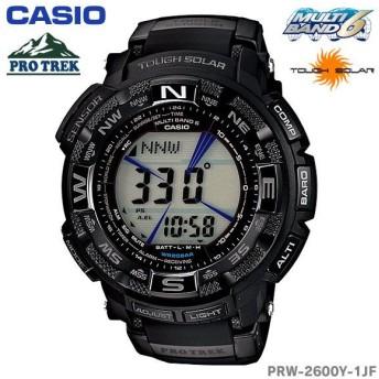 カシオ 腕時計 タフソーラー プロトレック PROTREK PRW-2600Y-1JF