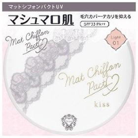 キス マットシフォン パクト UV 01 ライト ( 7g )/ キス