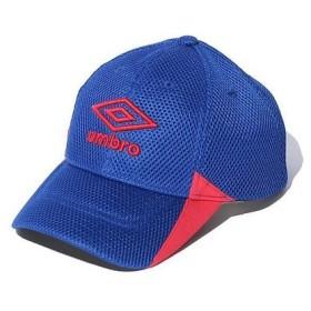 UMBRO(アンブロ)スポーツアクセサリー 帽子 JR.メッシュキャップ UJS2701J BLU ジュニア F BLU