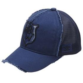 UMBRO(アンブロ)スポーツアクセサリー 帽子 デザインメッシュキャップ UJS2708 NVY F NVY