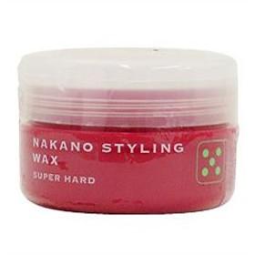 ナカノ スタイリング ワックス 5 (スーパーハード) 赤 90g NAKANO
