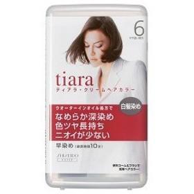 資生堂 ティアラ クリームヘアカラー 6 ( 1セット )/ ティアラ