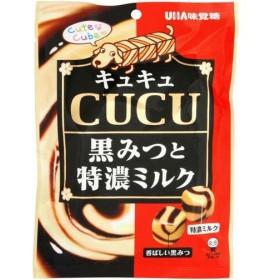 UHA味覚糖 キュキュ 黒ミルク 90g