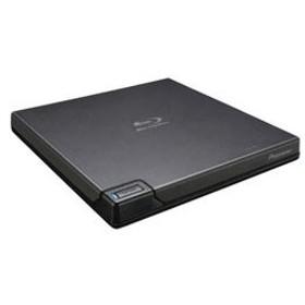 パイオニア BDR-XD07BK USB3.0接続ポータブルブルーレイドライブ[USB-A/USB-C対応] BDXL クラムシェル型(ブラック)