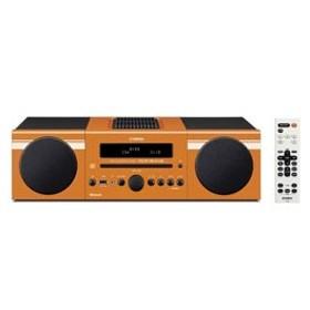 ヤマハ マイクロコンポーネントシステム(オレンジ) MCR-B043 D 【FMワイド対応】