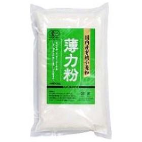 ムソー 国内産有機小麦粉 薄力粉 ( 500g )