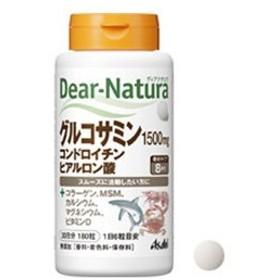 アサヒフードヘルスケア 【Dear-Natura(ディアナチュラ)】グルコサミンコンドロイチンヒアルロン酸(180粒)