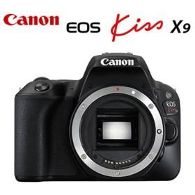 キヤノン デジタル一眼レフカメラ EOS Kiss X9 ボディ ブラック EOSKISSX9BK CANON