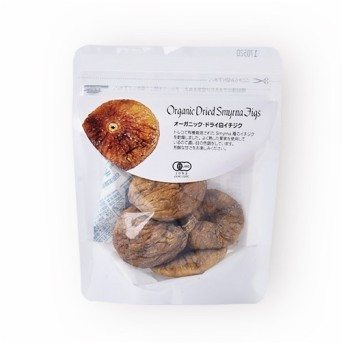 ナチュラルキッチン オーガニック ドライ 白イチジク 65g ドライフルーツ 砂糖不使用 オーガニック食品