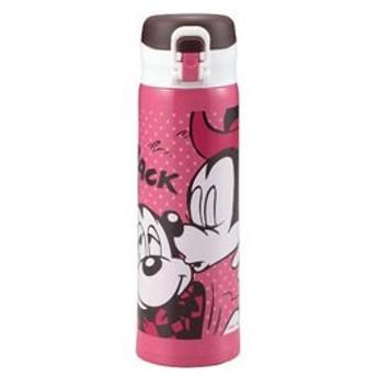 パール金属 ステンレスボトル ミッキー&ミニー (500ml) MA-2163 キス
