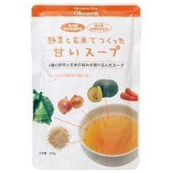 オーサワ 野菜と玄米でつくった甘いスープ ( 200g )/ オーサワ