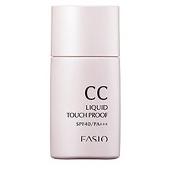 《コーセー》 ファシオ (FASIO) CC リキッド タッチプルーフ SPF40 PA+++ #001 30mL