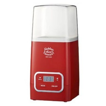 イデアインターナショナル 発酵フードメーカー レシピブック付き LOE037-RD レッド