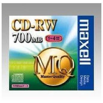 マクセル データ用CD-RW 700MB ( 1枚 )/ マクセル(maxell)
